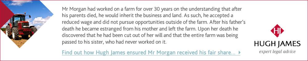 Mr Morgan's Dispute