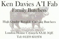 Ken Davies A'i Fab Family Butchers